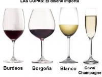 Las copas: el diseño importa