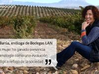"""María Barúa, enóloga de Bodegas LAN: """"La mujer ha ganado presencia en enología como una evolución lógica reflejo de la sociedad"""""""