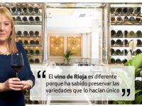 """Elena Adell: """"El vino de Rioja es diferente porque ha sabido preservar las variedades que lo hacían único"""""""