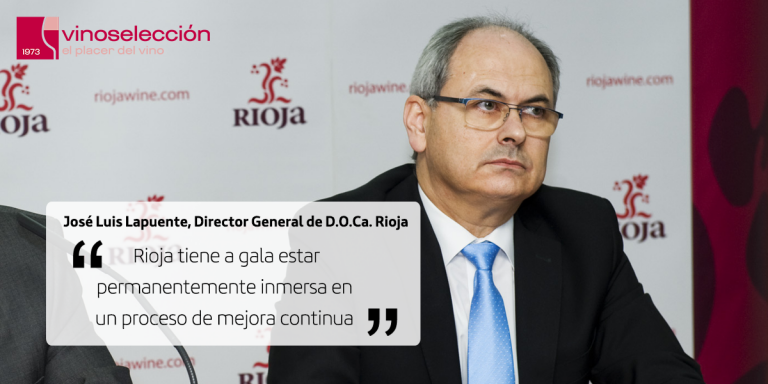 """José Luis Lapuente, Director General de D.O.Ca. Rioja: """"La mejora continua es nuestro mantra"""""""