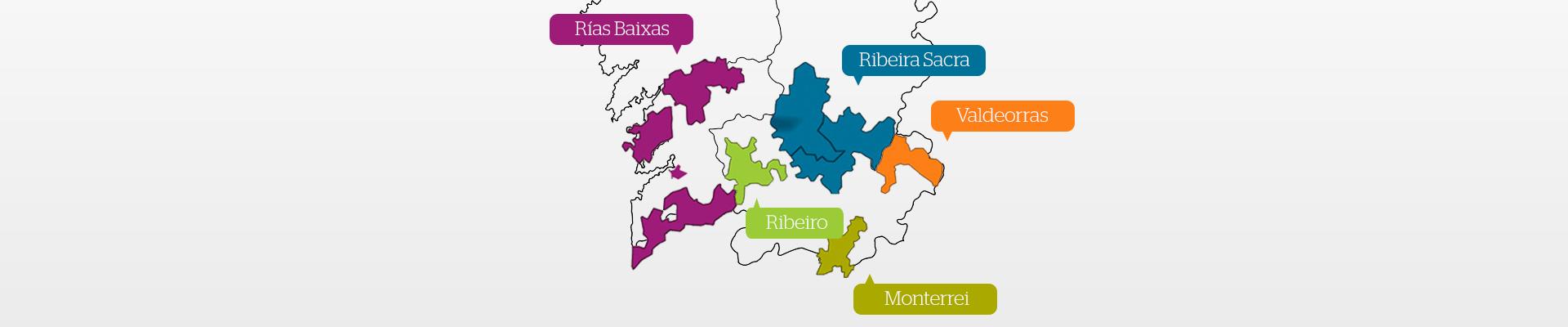 Denominaciones de Origen de Galicia