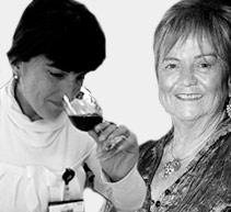 María Isabel Mijares y María Eugenia Rozas