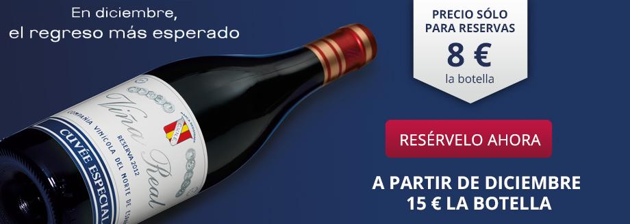 Resérvelo Viña Real Cuvée Especial 2012