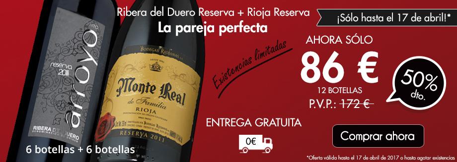 Oferta Combo Ribera Rioja