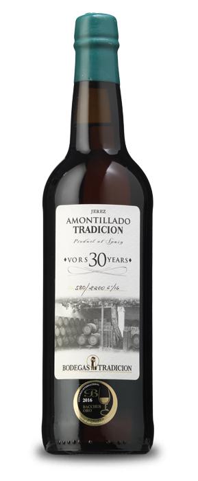 Amontillado Tradición VORS 30 años Generoso