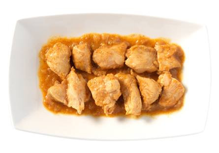 Pollo al curry con leche de coco
