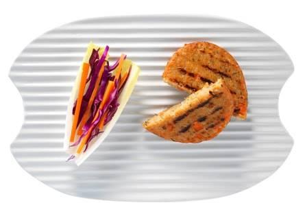 Hamburguesa tofu y zanahoria