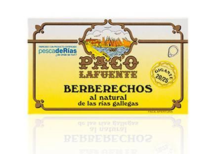 Berberechos al natural - 20/25