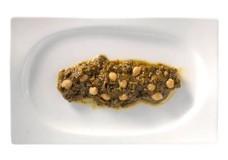 Espinacas con garbanzos Eco