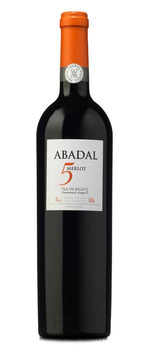 Abadal 5 Merlot 2010