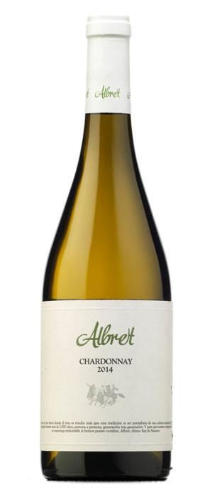 Albret Chardonnay Blanco con crianza 2014