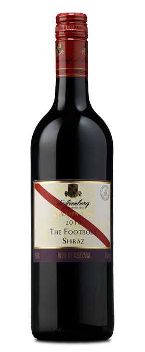 1d´Arenberg The Footbolt Shiraz Tinto con crianza 2010