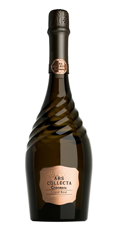 Botella del cava Ars Collecta Grand Rosé 2018