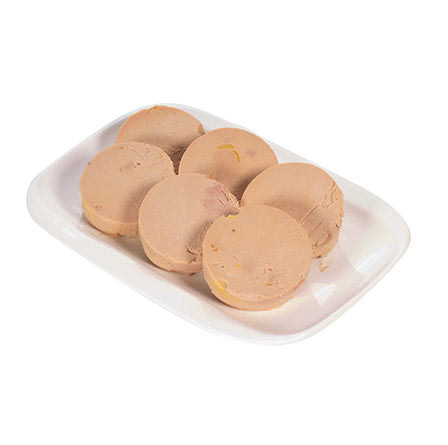 Bloc de foie gras de pato con boletus