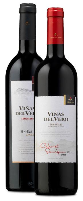 Viñas del Vero Cabernet Sauvignon 2011 y Viñas del Vero Reserva 2006