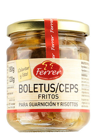 Boletus fritos Ferrer