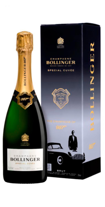 Bollinger Special Cuvée 007 Edición Limitada Bond  con estuche