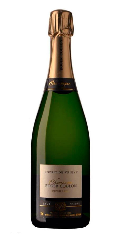 Champagne Roger Coulon Brut Nature Esprit de Vrigny Premier Cru