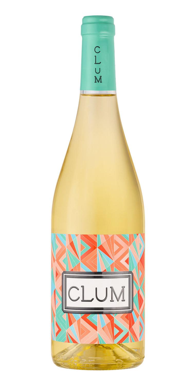 Botella del vino CLUM Blanco 2019