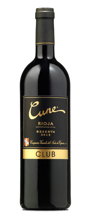 Cune Club Reserva 2012