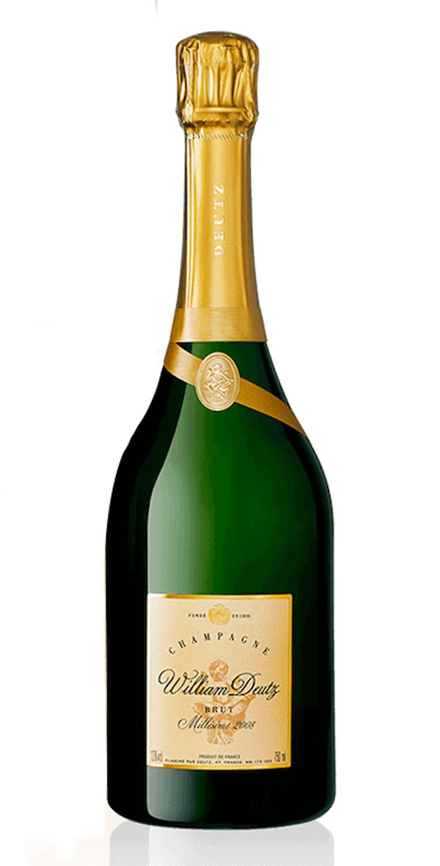 Cofre Champagne Cuvée William Deutz