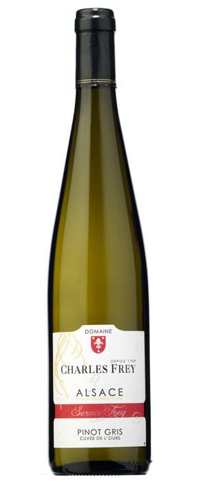 Domaine Charles Frey Pinot Gris Cuvée de L'Ours Blanco 2014
