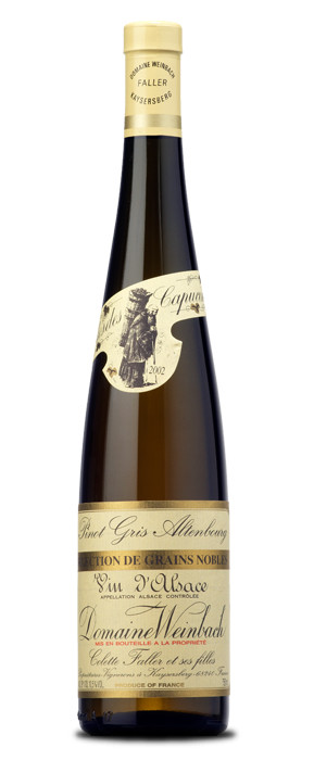 Domaine Weinbach Tokay Pinot Gris Altenbourg Selection de Grains Nobles Blanco dulce
