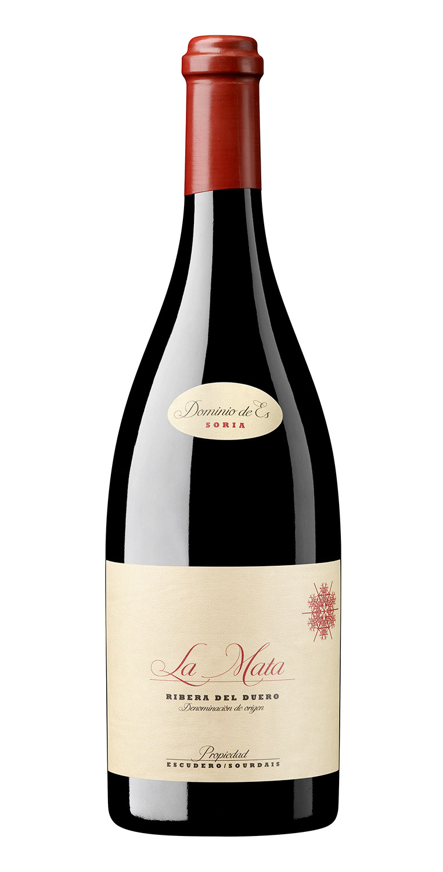 Botella del vino tinto Dominio de Es La Mata 2018