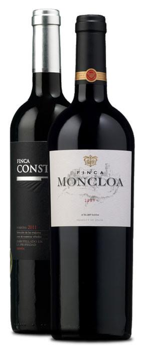 Finca Moncloa 2009 y Finca Constancia 2011