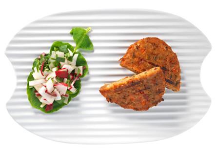 Hamburguesa de tofu y 5 verduras Eco Biográ