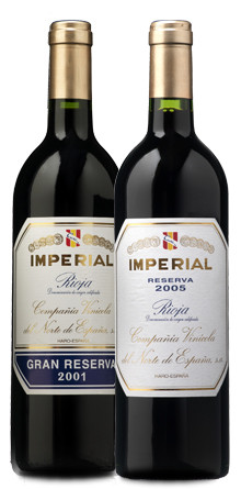 Imperial Reserva 2005 e Imperial Gran Reserva 2001