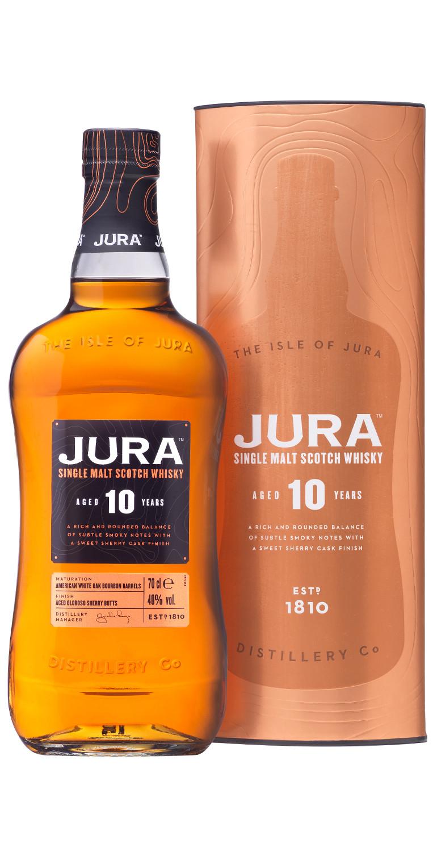 Whisky Jura 10 años en estuche