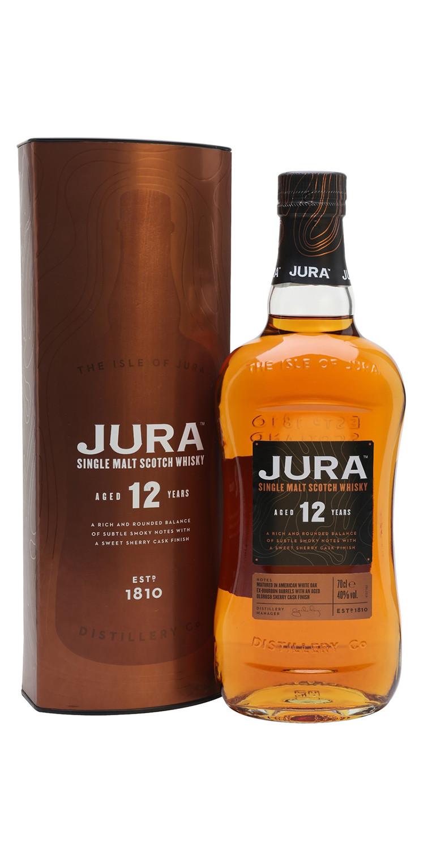 Whisky Jura 12 años