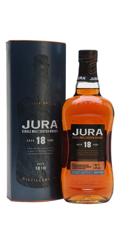 Whisky Jura 18 años