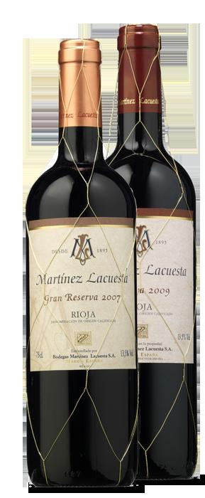 Martínez Lacuesta Reserva 2009 y Martínez Lacuesta Gran Reserva 2007