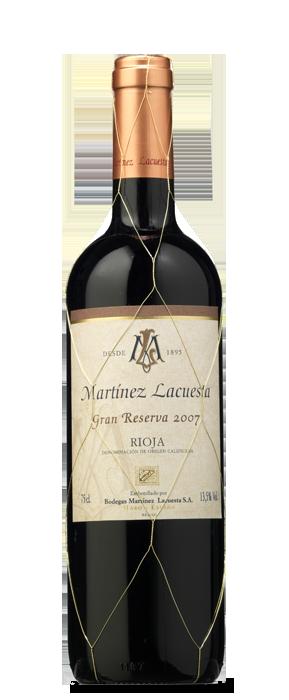 Martínez Lacuesta Tinto Gran Reserva 2007