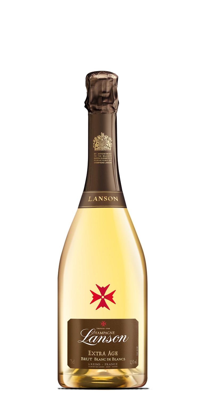 Lanson Extra Age Blanc de Blancs Champán