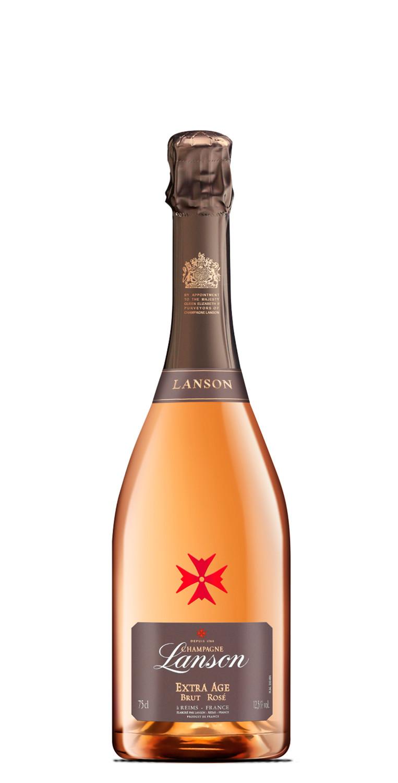 Lanson Extra Age Rosé Champán