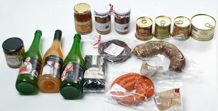 Productos gastronómicos de la región Baztán-Bidasoa
