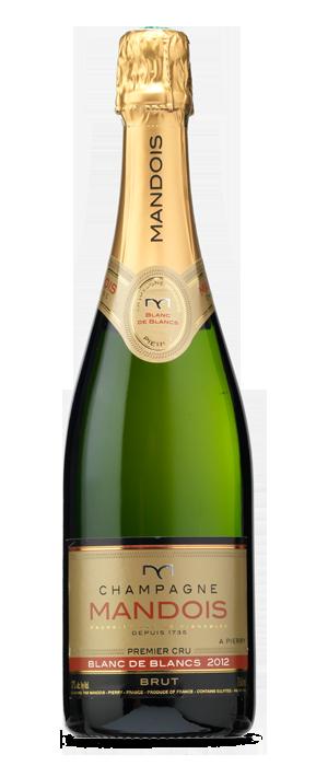 Mandois Champagne Blanc de Blancs Brut Champán 2012