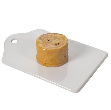 Marbré de foie gras de oca con setas