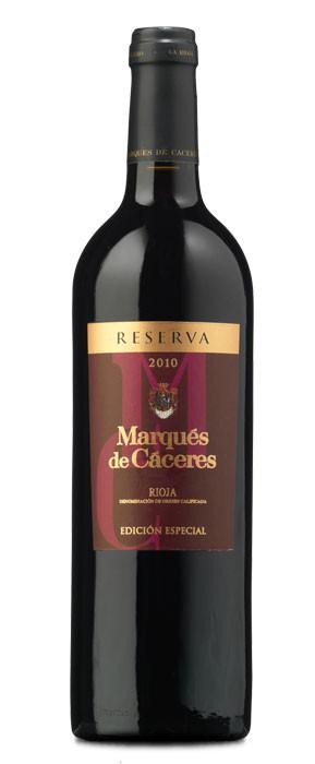 Marqués de Cáceres Edición Especial Tinto Reserva 2010