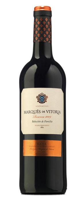 Marqués de Vitoria Selección de Familia Tinto Reserva 2009