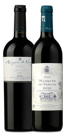 Marqués de Vargas Reserva Privada 2007 y Marqués de Vargas Reserva 2008