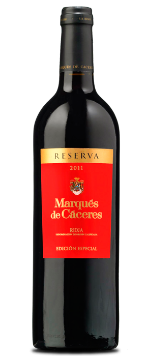 Marqués de Cáceres Edición Especial Tinto Reserva 2011