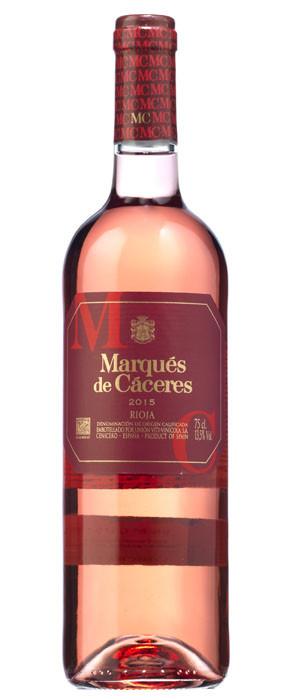 Marqués de Cáceres Rosado 2015