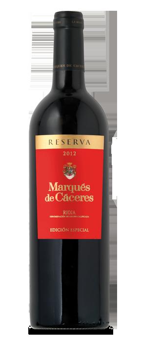 Marqués de Cáceres Edición Especial Tinto Reserva 2012