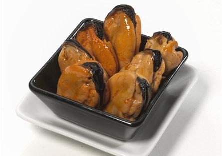 Mejillones de las Rías Gallegas fritos en escabeche