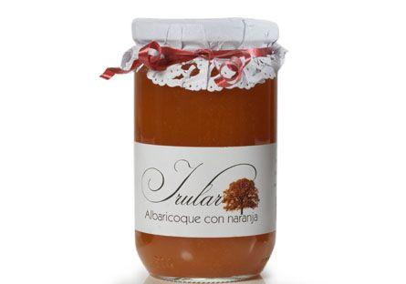 Mermelada de albaricoque con licor de naranja IRULAR
