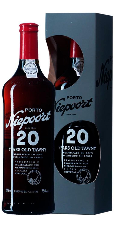 Botella de Oporto Niepoort 20 Years Old Tawny con estuche
